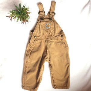 Baby boy Carhartt overalls